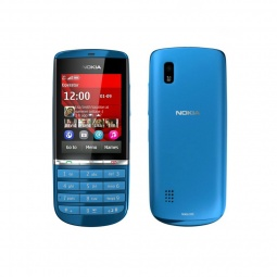 фото Мобильный телефон Nokia 300 Asha. Цвет: голубой