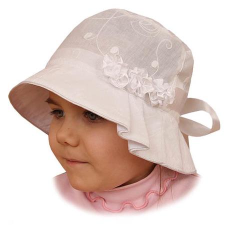 Купить Панама для девочки Shapochka «София» ЯВ121036. Цвет: кремовый