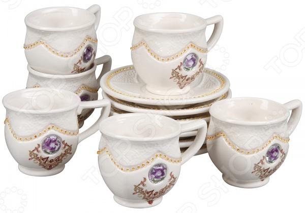 Чайный сервиз Rosenberg 8695 creative набор для творчества украшаем чайный сервиз