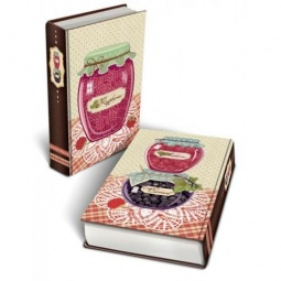 фото Книга-шкатулка Феникс-Презент «Варенье малиновое»