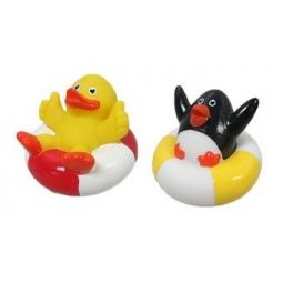 фото Набор игрушек для ванны Жирафики «Утенок и Пингвин»