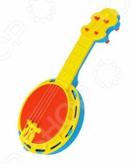 Игрушка музыкальная Игрушкин «Банджо»Музыкальные игрушки для малышей<br>Игрушка музыкальная Игрушкин Банджо - станет любимой игрушкой Вашего малыша. Яркие цвета и оригинальный дизайн на долго привлекут внимание ребёнка. В процессе игры у малыша развивается музыкальный слух, воображение, он учится различать звуки и ноты и знакомиться с миром музыки. Игрушка изготовлена из прочного экологически чистого пластика, безопасного для здоровья ребёнка.<br>