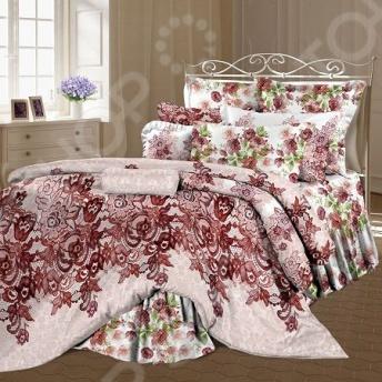 Комплект постельного белья Романтика «Ажурная сказка» комплект семейный романтика баттерфляй