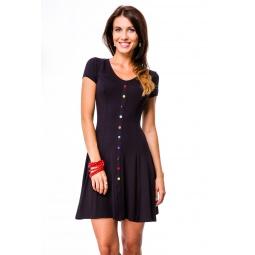 фото Платье Mondigo 7055. Цвет: темно-синий. Размер одежды: 44