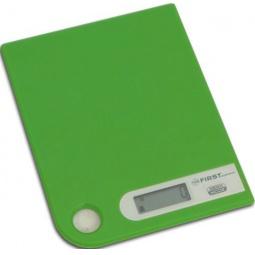 фото Весы кухонные First 6401-1. Цвет: зеленый