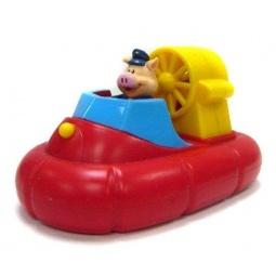 фото Игрушка для ванны Жирафики «Гонки заводные. Катер»