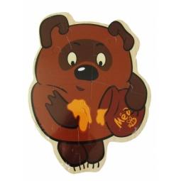 Купить Пазл деревянный ADEX «Винни Пух»