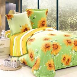 фото Комплект постельного белья Amore Mio «Лето». Poplin. Семейный