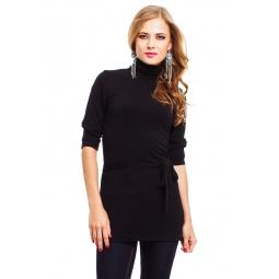 фото Туника Mondigo 9351-1. Цвет: черный. Размер одежды: 44