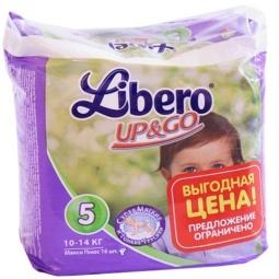 Купить Трусики детские LIBERO UP&GO Maxi+, 16 шт