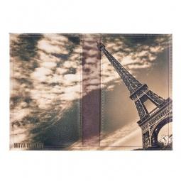 фото Обложка для паспорта двухсторонняя Mitya Veselkov «Эйфелева в облаках»