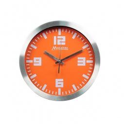 фото Часы настенные Marmiton алюминиевые. Цвет: оранжевый