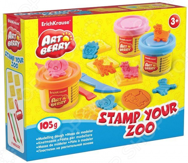 ��������� �� ������������ ������ Erich Krause Stamp Your Zoo