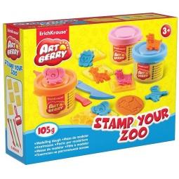фото Пластилин на растительной основе Erich Krause Stamp Your Zoo