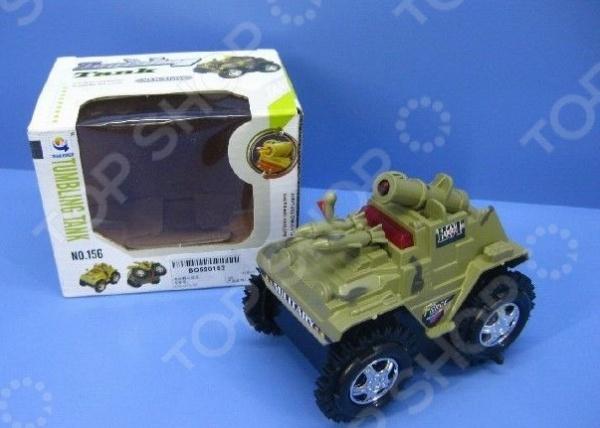 Танк игрушечный Tumbling Tank 1717142. В ассортименте