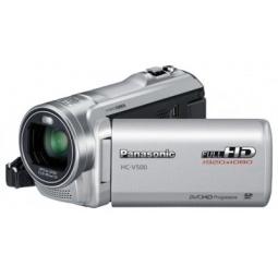 фото Видеокамера Panasonic HC-V500EE. Цвет: серебристый