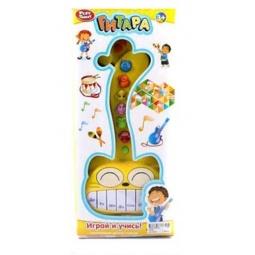 фото Музыкальный инструмент игрушечный Shantou Gepai «Орган-гитара. Веселый кот»