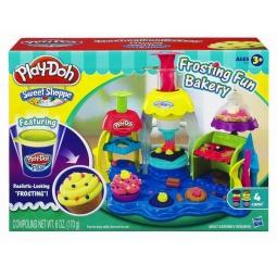 Купить Набор пластилина Play-Doh Фабрика пирожных