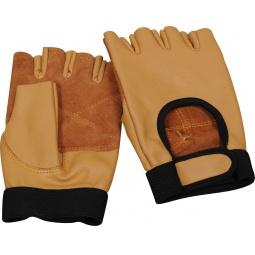 фото Перчатки для тяжелой атлетики и фитнеса Larsen NT508. Размер: L