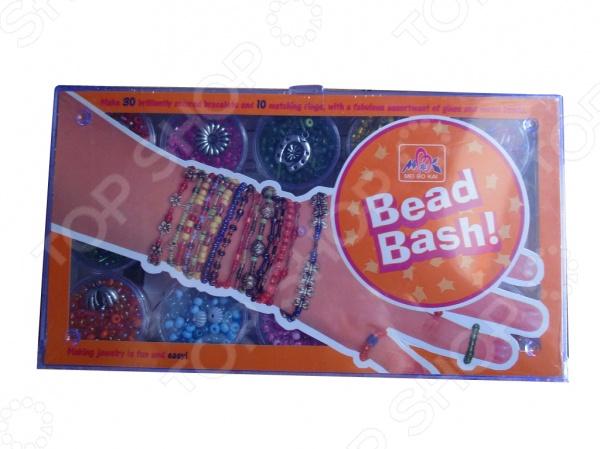 Набор для плетения из бисера Т58212Наборы для плетения<br>Набор для плетения из бисера Т58212 набор для девочек, который позволит сплести красивые браслеты для себя и своих друзей. В набор входят резинки бисер различной формы и цвета. Выполнены детали из качественного и прочного материала. Такой набор понравится каждой девочке, которая увлекается созданием декоративных украшений.<br>