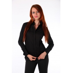 фото Блузка Mondigo 9525. Цвет: черный. Размер одежды: 46