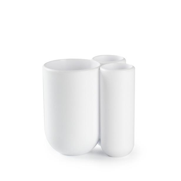 фото Подставка для зубных щеток Umbra Touch. Цвет: белый