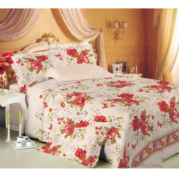 фото Комплект постельного белья Королевское Искушение «Виктория». 2-спальный. Размер простыни: 220х195 см