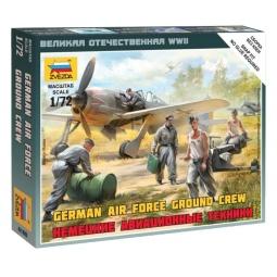 фото Набор сборных фигурок Звезда «Немецкие авиатехники»