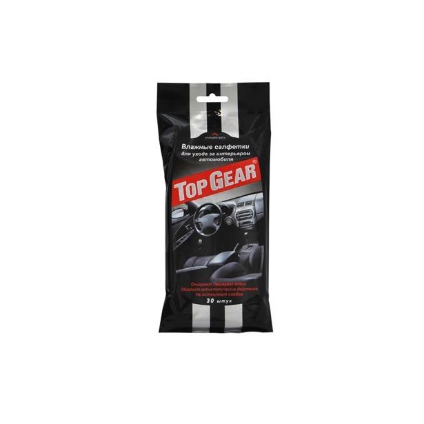 фото Набор салфеток влажных для ухода за интерьером автомобиля Авангард TG-48039 Top Gear