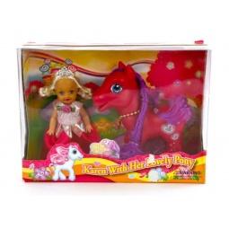 фото Набор игровой с куклой Doll Dak «Карен с пони». В ассортименте