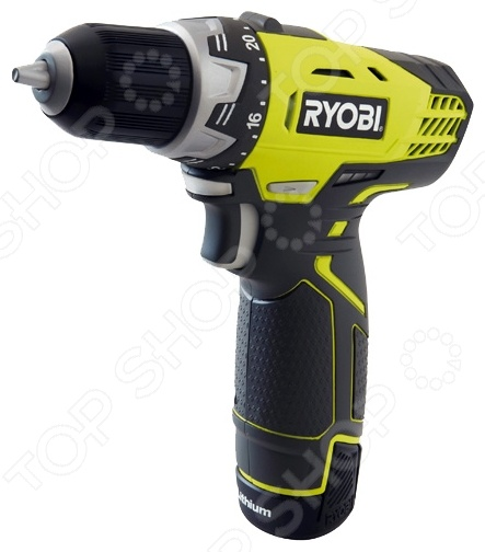 Дрель-шуруповерт аккумуляторная Ryobi R12DD-LL13S шуруповерт ryobi r12dd ll13s 3001802