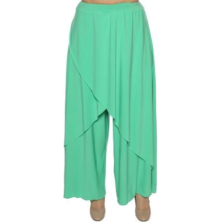 Купить Юбка-брюки Pretty Woman «Крылья Пегаса». Цвет: светло-бирюзовый