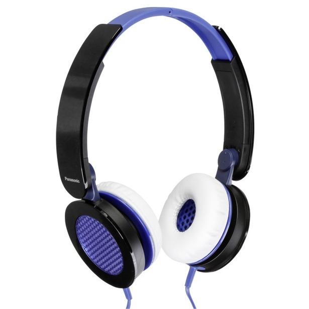 фото Наушники накладные Panasonic RP-HXS200E. Цвет: черный, синий