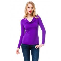 фото Кофта Mondigo 1464. Цвет: фиолетовый. Размер одежды: 46