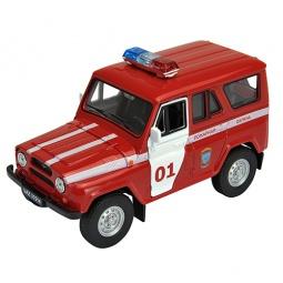 Купить Модель автомобиля 1:34-1:39 Welly УАЗ. Пожарная охрана
