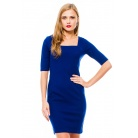 Фото Платье Mondigo 8669. Цвет: темно-синий. Размер одежды: 48