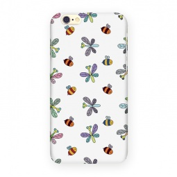 фото Чехол для iPhone 6 Mitya Veselkov «Стрекозы и пчелы»