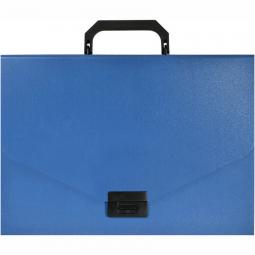 фото Папка-портфель Silwerhof Basic 255077. Цвет: синий