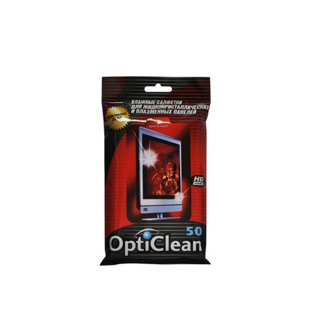 фото Набор салфеток влажных очищающих для плазменных и ЖК-панелей Авангард OC-48159 Opti Clean