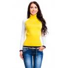 Фото Свитер Mondigo 10004. Цвет: ярко-горчичный. Размер одежды: 44