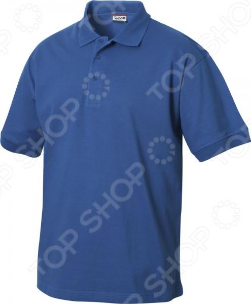 Рубашка-поло Clique «Линкольн». Цвет: голубой
