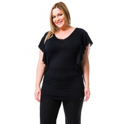 фото Футболка Mondigo XL 8549. Цвет: черный. Размер одежды: 48