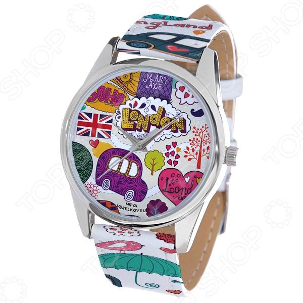 Часы наручные Mitya Veselkov «Праздничный Лондон» ART цена и фото