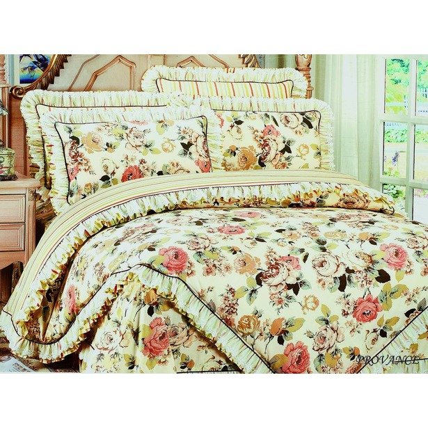 фото Комплект постельного белья Jardin Provance. Семейный