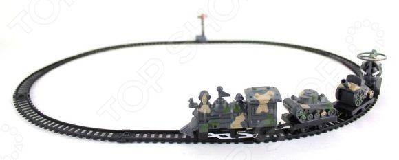 Бронепоезд игрушечный Shantou Gepai 17130 железные дороги shantou gepai железная дорога бронепоезд