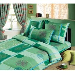 фото Комплект постельного белья Белиссимо «Икебана». 2-спальный. Размер простыни: 220х195 см