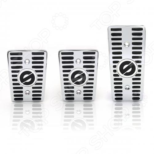 Накладки на педали для МКПП Autoprofi Sparco ClassicТюнинг и аксессуары<br>Накладки на педали для МКПП Autoprofi Sparco Classic специальный аксессуар, который крепится на педали для придания лучшей чувствительности. Совместимы с большинством автомобилей. Такие накладки также считаются элементом поверхностного тюнинга для автомобилей. Для монтажа накладок к комплекту прилагаются необходимые крепёжные элементы и инструкция по установке.<br>