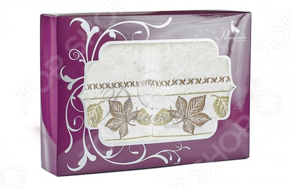 Набор из 2-х полотенец Primavelle Lea. Размер: 50х90 см сирень classik б 50х90 70х130 в коробке набор полотенец фиеста