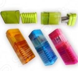 Точилка KUM Correc-Tri Pop. В ассортиментеТочилки. Ластики<br>Товар продается в ассортименте. Цвет товара при комплектации заказа зависит от наличия товарного ассортимента на складе. Точилка KUM Correc-Tri Pop - удобная и практичная модель с контейнером. Подходит для различных видов карандашей. Точилка выполнена из магнезии. Стальное остро заточенное лезвие обеспечивает прекрасную и плавную заточку. Маленькая но важная канцелярская принадлежность, необходимая на каждом рабочем столе.<br>