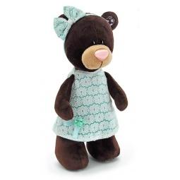 фото Мягкая игрушка Orange стоячая в платье Milk «Медведь». Размер: 30 см
